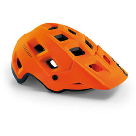 MET Terranova Casco, orange/black matte
